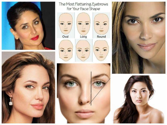Préférence Quelle est la forme des sourcils flatte votre visage le plus? WJ76
